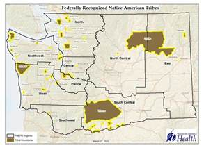 american tribes in map skagit indian tribe