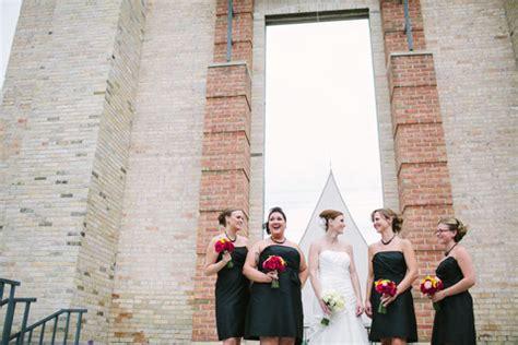 pam + chris' kohler arts center wedding in sheboygan, wi