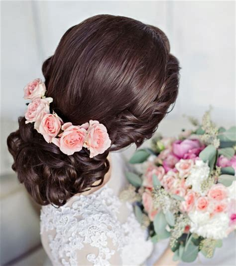 Wedding Hairstyles With Roses bridal archives deer pearl flowers