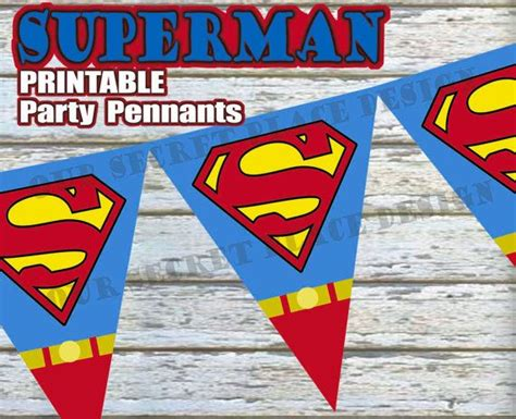 printable superhero banner 1000 images about superman baby shower on pinterest