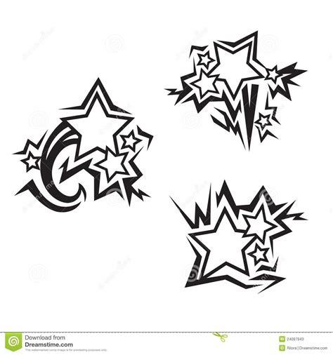 tatuajes de las estrellas ilustraci 243 n del vector