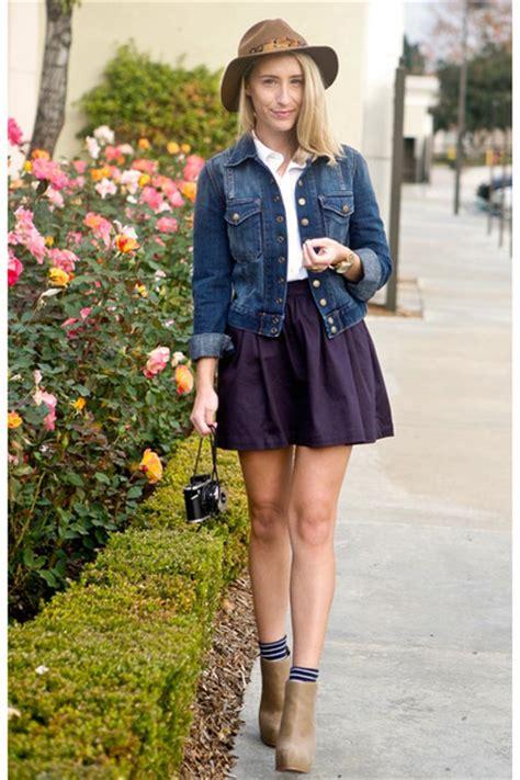 denim skirt and jacket redskirtz