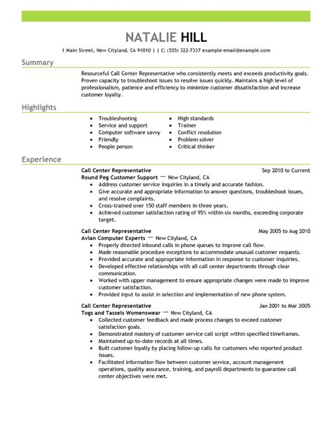 Call Centre Resume Sample by Resume Examples Resume Cv