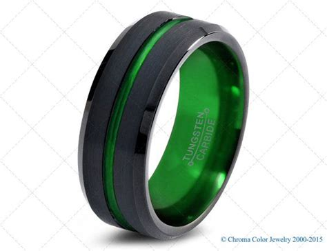 colored wedding bands 1000 ideas about black wedding bands on