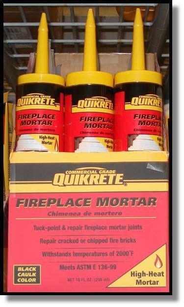Quikrete Fireplace Mortar by Quikrete High Heat Fireplace Mortar 296ml The Home Depot