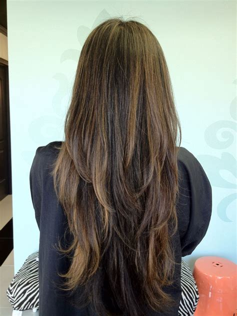 long hairstyles from behind 17 best ideas about long choppy layers on pinterest