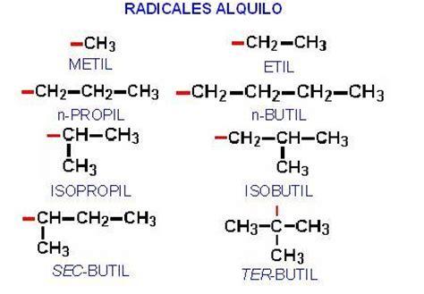 cadenas ramificadas nomenclatura quimica organica 2 alcanos