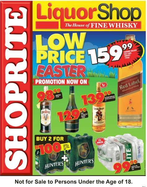 kzn shoprite liquorshop deals  mar   apr