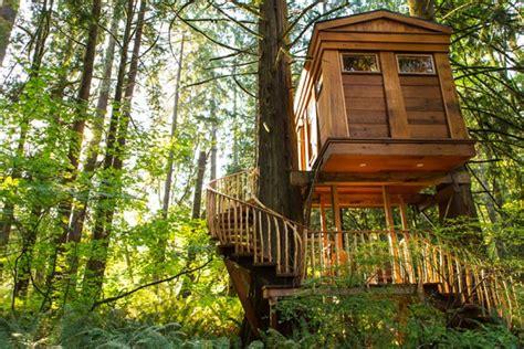 treehouse point treehouse point issaquah washington venue report