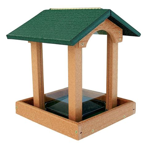 shop woodlink going green recycled plastic hopper bird