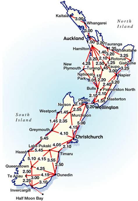 printable road map north island new zealand reisafstanden in nieuw zeeland en wat zijn de reistijden
