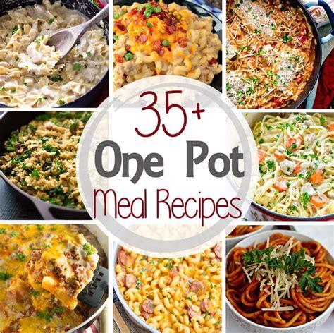 35 one pot meal recipes julie s eats treats
