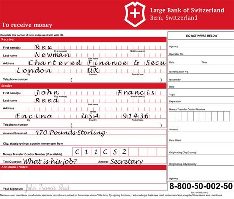 Moneygram Money Order Receipt Template by Moneygram Form Images Frompo 1