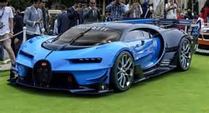 Future Bugatti Bugatti S Vision Gran Turismo Stuns At Pebble