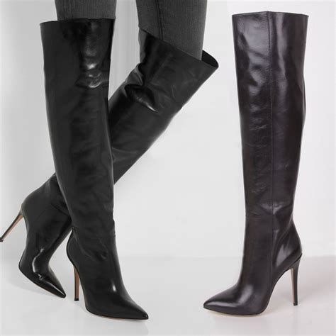 leather boots pictures promotion shopping for