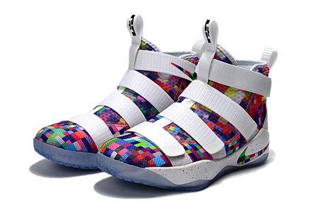 design nike basketball shoes advanced design nike lebron soldier 11 multi color unvrsty
