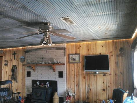 rustic tin ceiling galvanized tin ceiling rustic decor wood board walls for the home tin ceilings