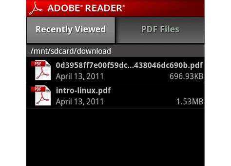 free pdf reader for android software free adobe reader for android 10 5 1