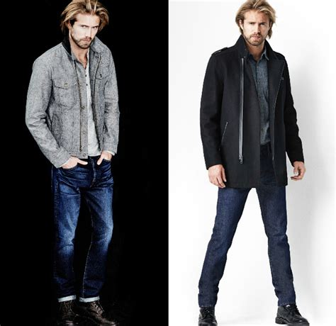 7 For Style by 7 For All Mankind 2014 2015 Fall Mens Lookbook Denim