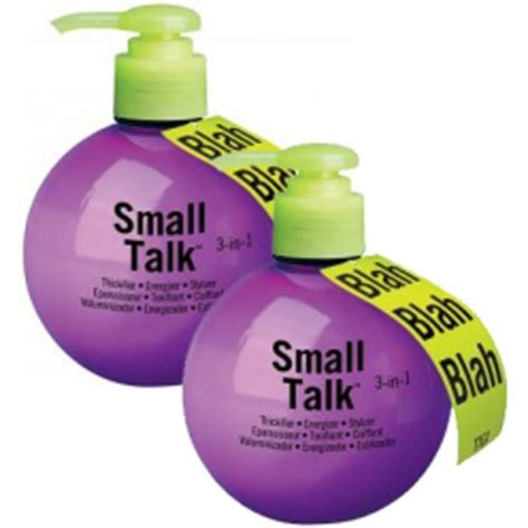 bed head small talk tigi bed head small talk duo 2 products free delivery
