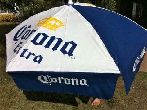 Corona Patio Umbrella Corona Cerveza Bar Patio 70 Quot Umbrella New Ebay