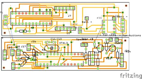pcb layout game memory game alarm clock jeremy wilson