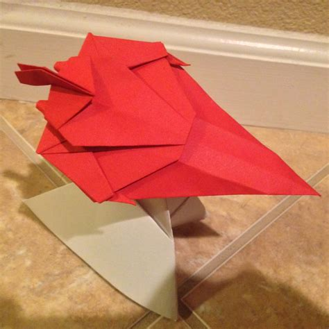 free coloring pages origami paperdragon folding