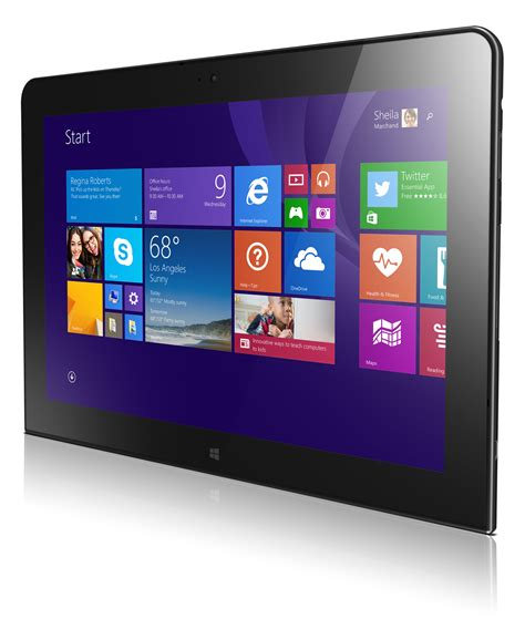 Lenovo Tablet 10 lenovo thinkpad 10 review a thinner lighter windows tablet with a high res display pcworld