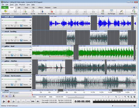 free video editing mixing software full version free download popular editing software