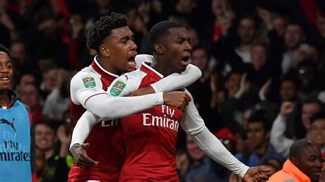 arsenal nketiah arsenal vs norwich wenger reacts to nketiah s match