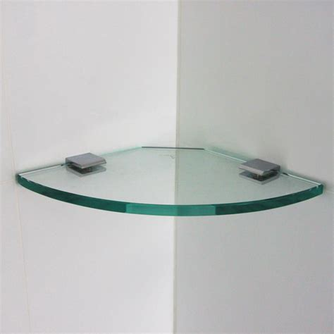 glass wall shelves fantastic choice for decorating your home