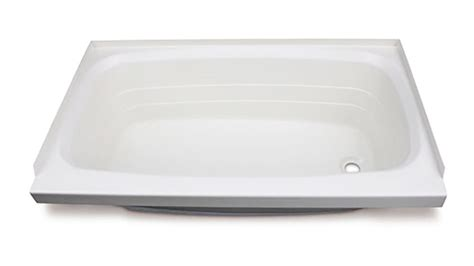 24 inch wide bathtub better bath 36 quot long x 24 quot wide rv bath tub right drain