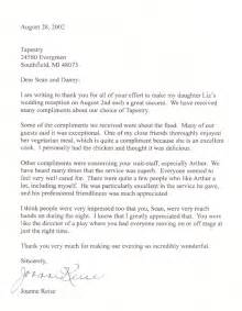 letter of recommendation thank you letter best template