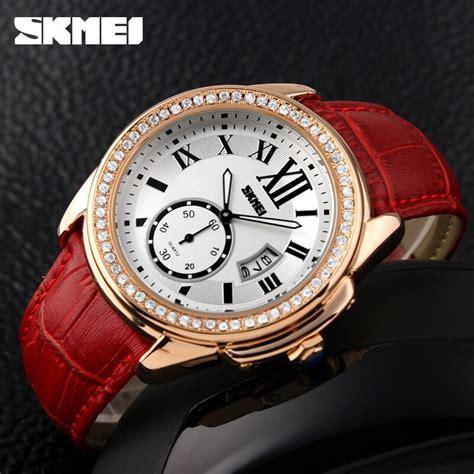 Jam Tangan Wanita Skmei 1133 skmei jam tangan analog wanita 1147cl golden