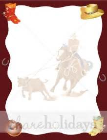 Halloween Invitation Ideas Cowboy Birthday Background Party Clipart Amp Backgrounds