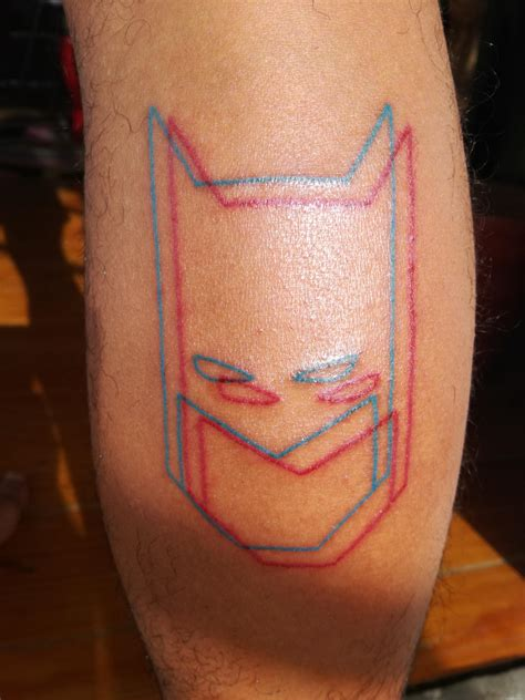 minimalist joker tattoo my minimalist 3d batman tattoo batman