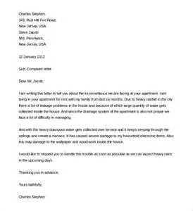 Complaint Letter Sample 12 complaint letter templates free sample example