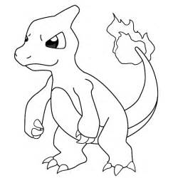 pokemon charmander coloring pages coloring pages