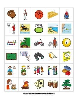 Autism Picture Cards