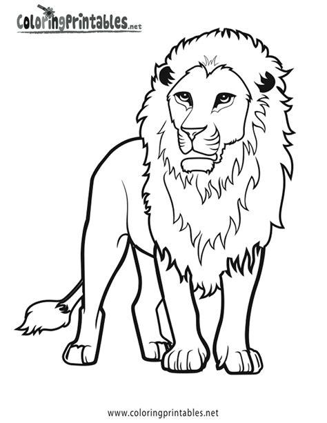 imagenes de leones animados para colorear 108 dibujos de leones para colorear oh kids page 1