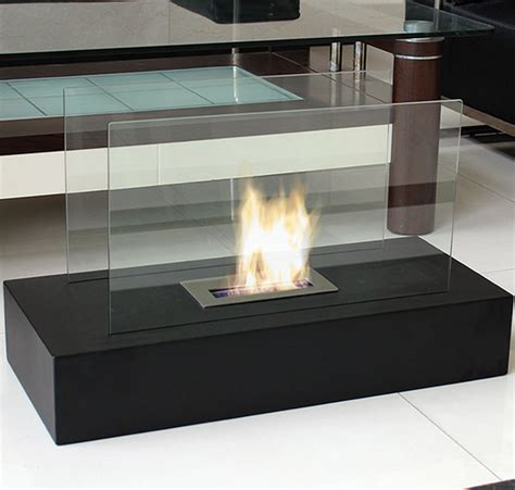 nu fiamme freestanding floor fireplace