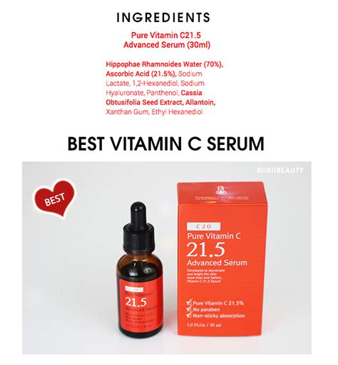 10 Ml Ost C 21 5 Vitamin C Advanced Serum C21 5 Ost C 21 5 Serum Review Ost Vitamin C 21 5 Advanced