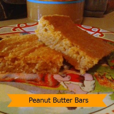 peanut butter comfort peanut butter bars joybee what s for dinner