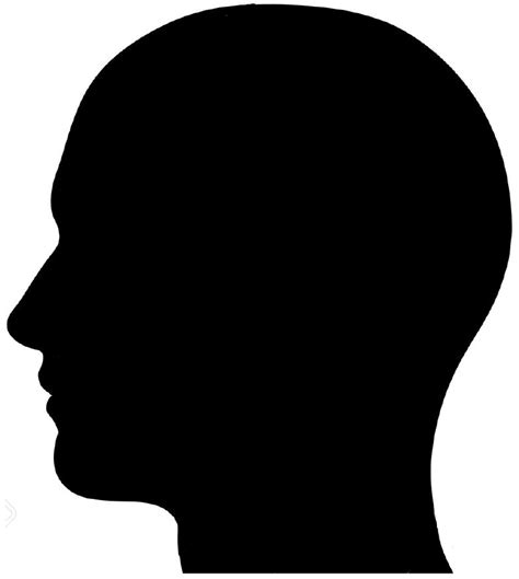 Headl Icon Black file silhuette png wikimedia commons
