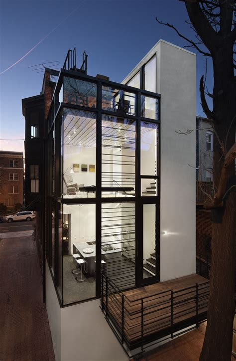 modern washington dc row house idesignarch interior
