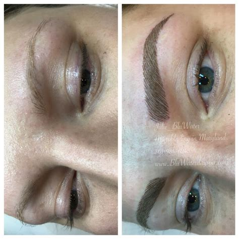 tattoo eyebrows in maryland microblading in maryland microblading eyebrows by julie
