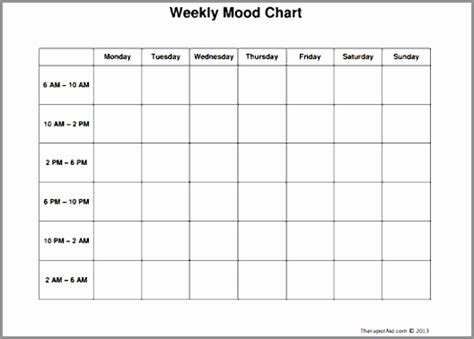 mood log template 7 mood log template rpeuy templatesz234