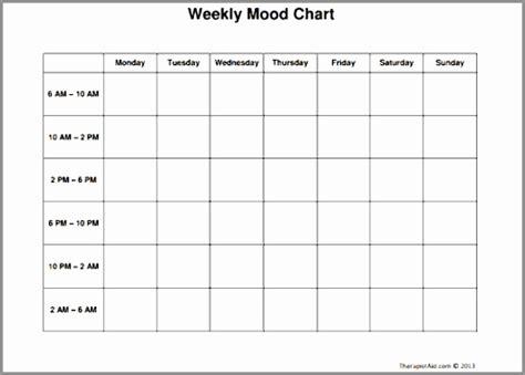 mood log template 7 mood log template rpeuy templatesz234