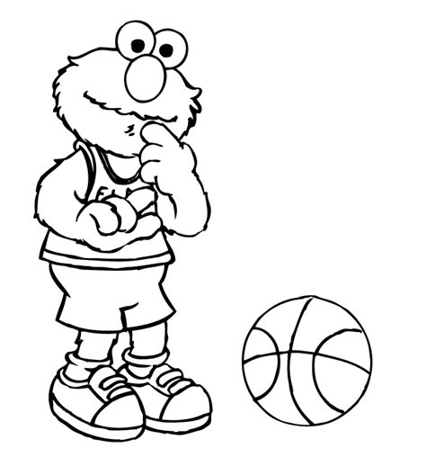 coloring page elmo free printable elmo coloring pages for