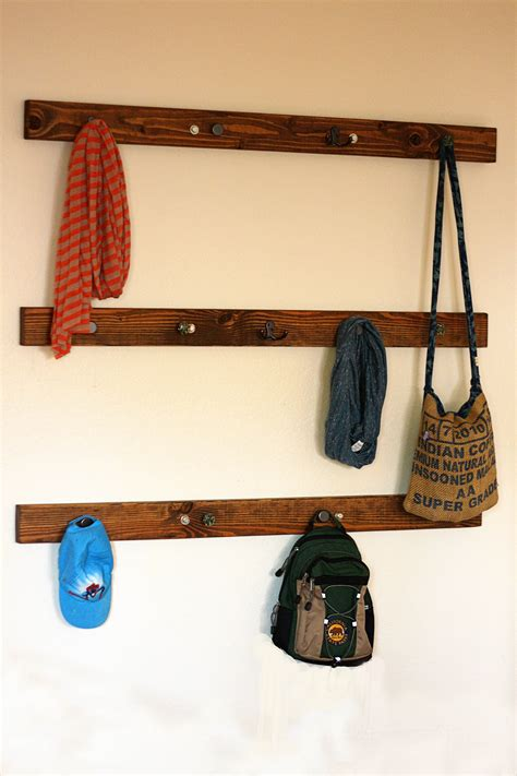 backpack rack for home backpack hanger a dollop of mayo
